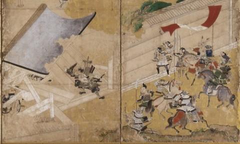 和田合戦図屏風-2